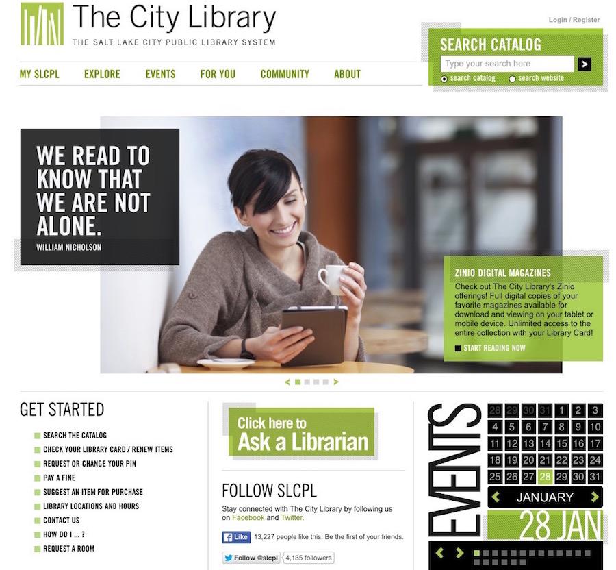 Best Practices For Public Library Website Design