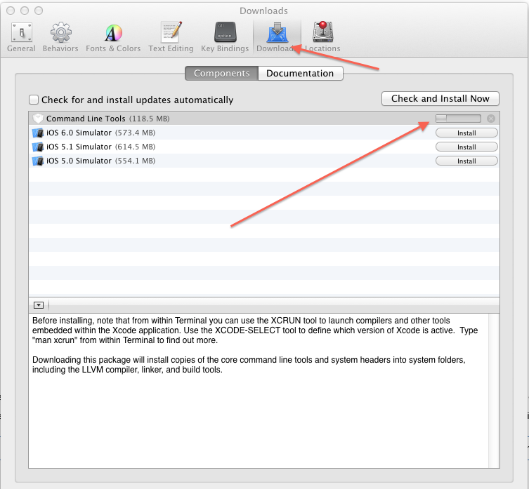 SOLVED: Warning: The Command Line Tools for Xcode don't appear to be installed; most ports will likely fail to build.