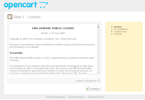Getting Started With OpenCart Installation