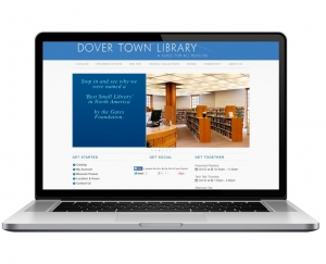 Dover Town Library Website Design
