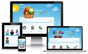 Day Care Center Website Design